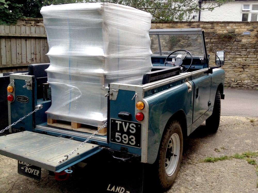 Timeline post: '58 Land Rover working Hard