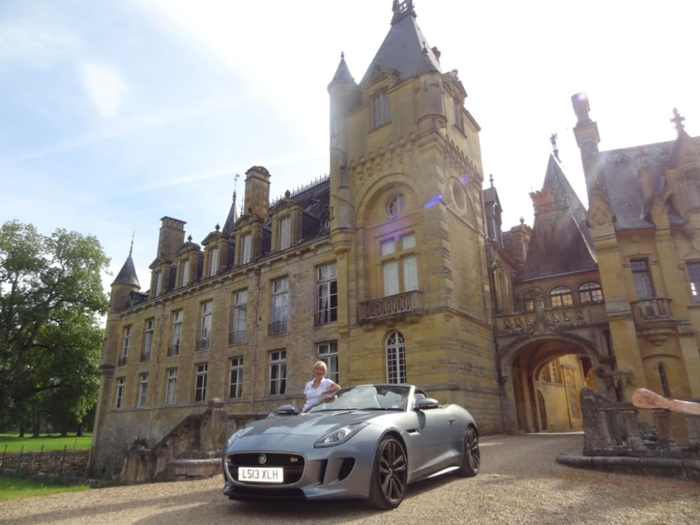 Timeline post: Visiting French castles and vineyards in 2014