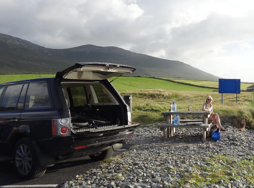 Timeline post: A great picnic in a great location