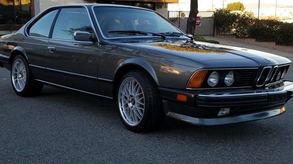 BMW 6 Series E24 Coupe