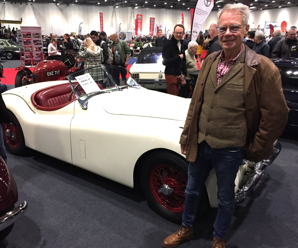 Timeline post: London Classic Car Show