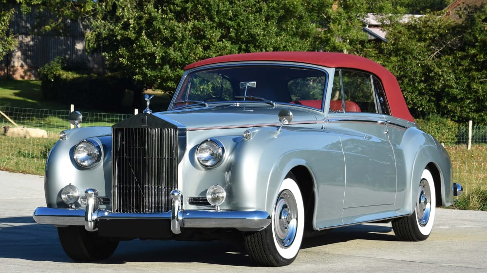 Rolls-Royce Silver Cloud Mk II Convertible