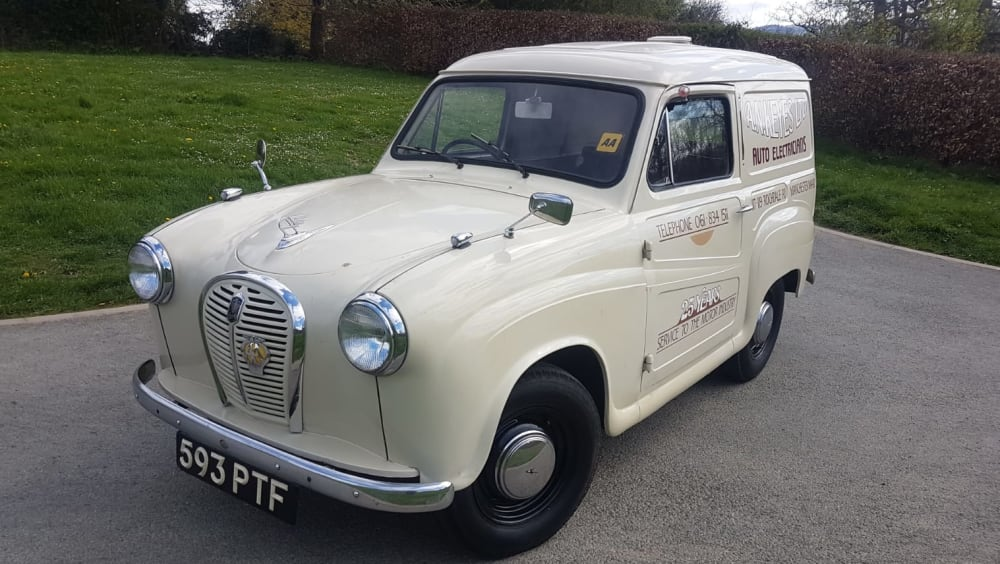 Austin A 35 Van