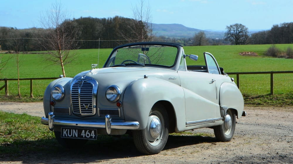 Austin A 40 Somerset Coupe