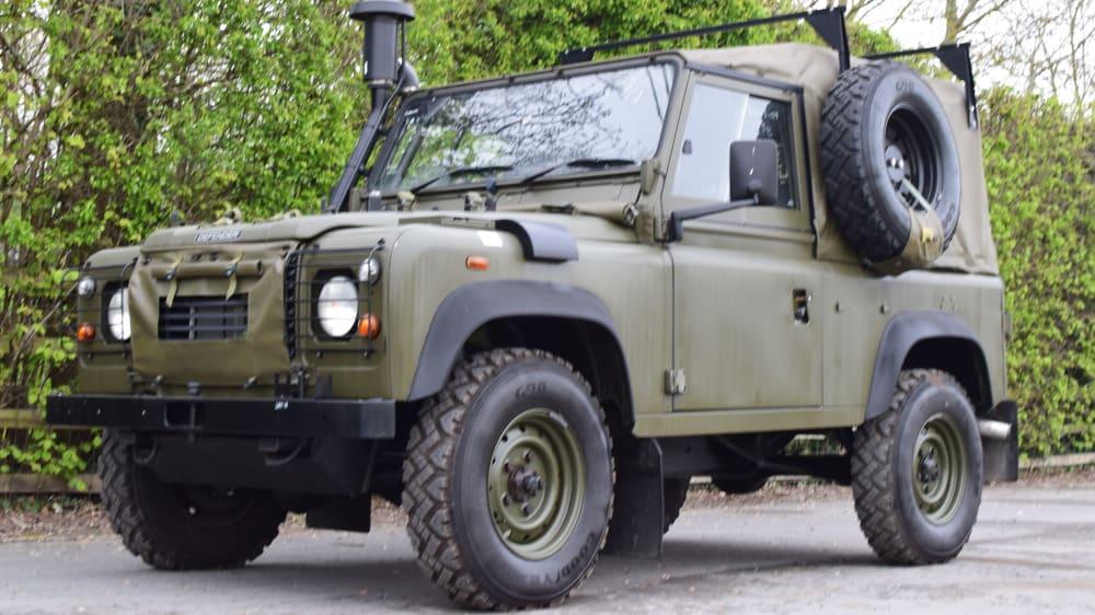 Land Rover Defender Wolf SWB TUL HS GS Soft Top W&W