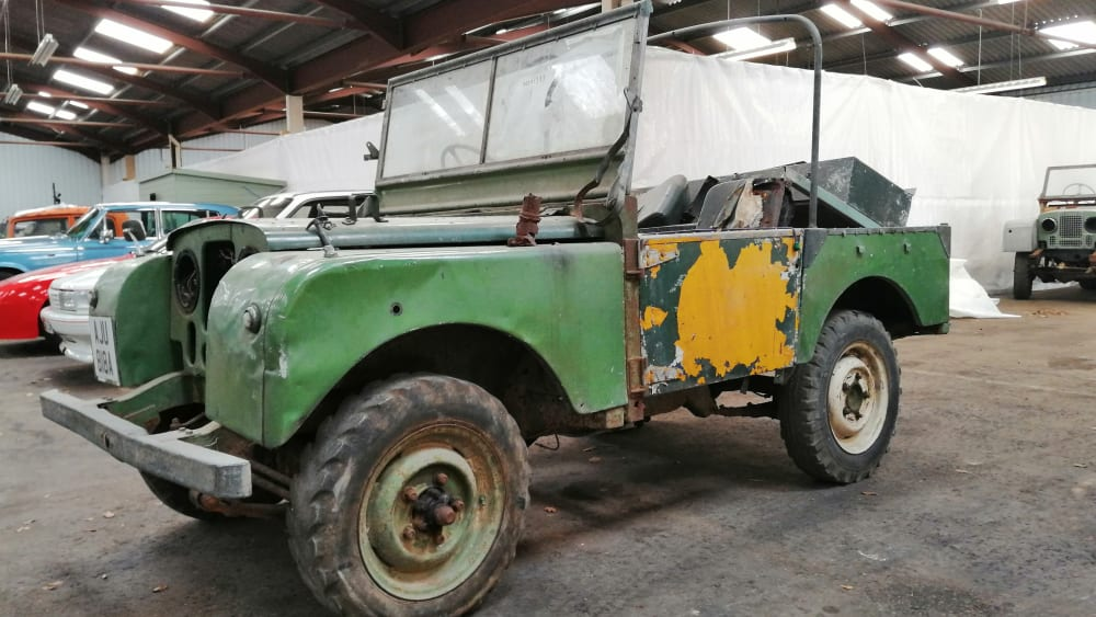 "Land Rover Series I 80"" petrol"