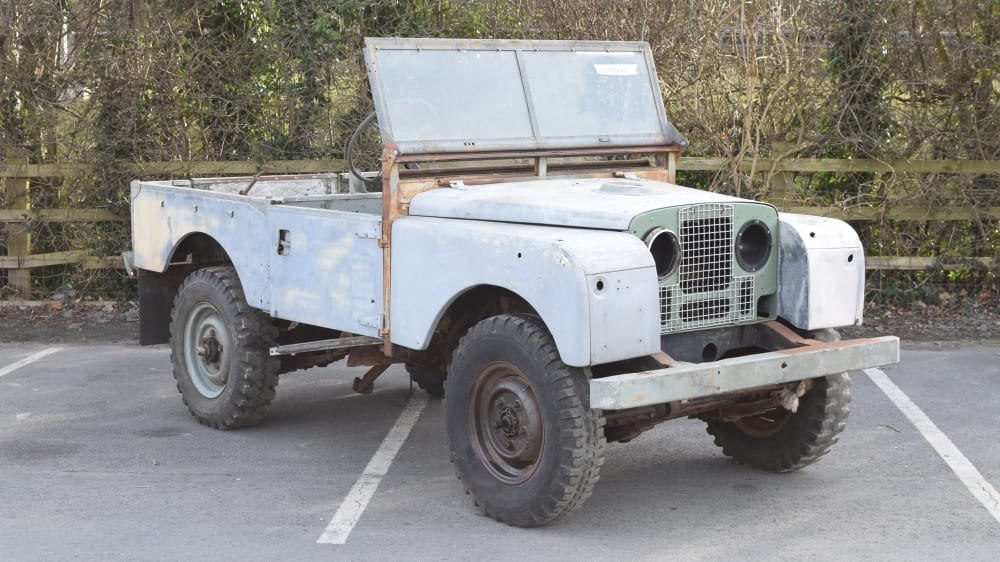 "Land Rover Series I 86"" petrol"