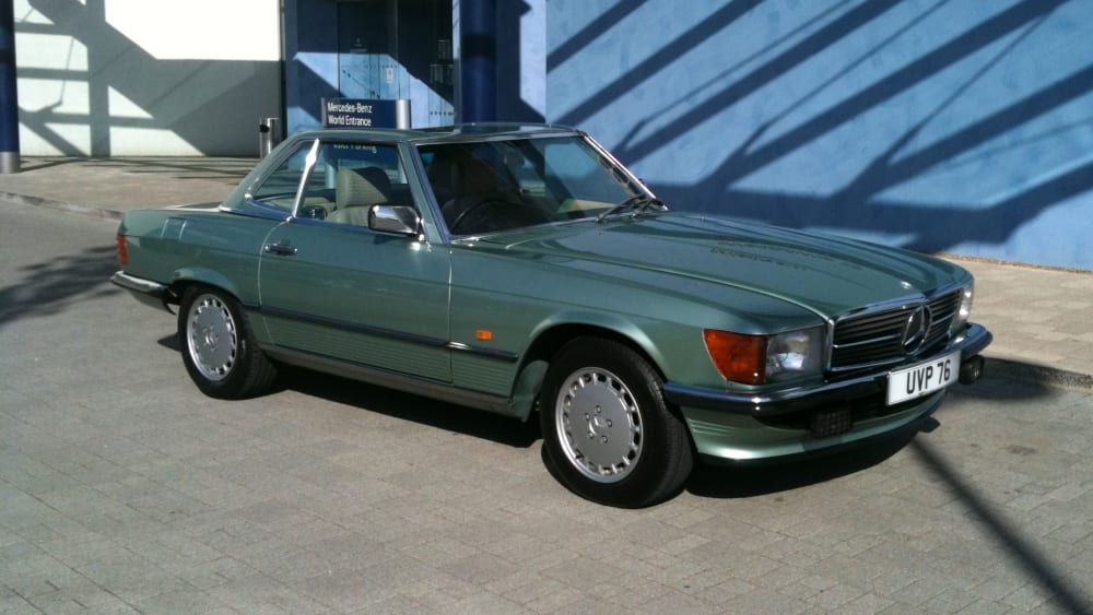 Mercedes-Benz 420 SL (R107) Convertible