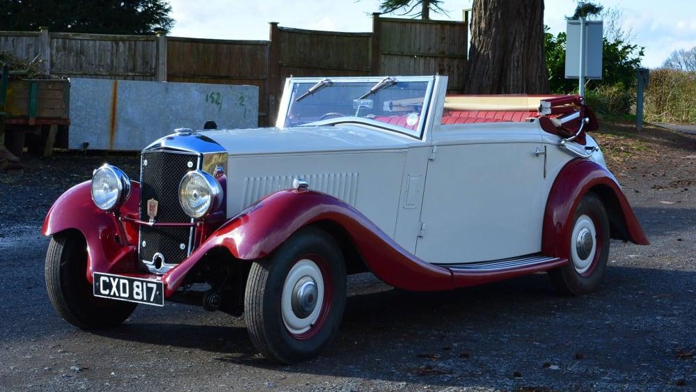 Railton Straight Eight Sports Cabriolet