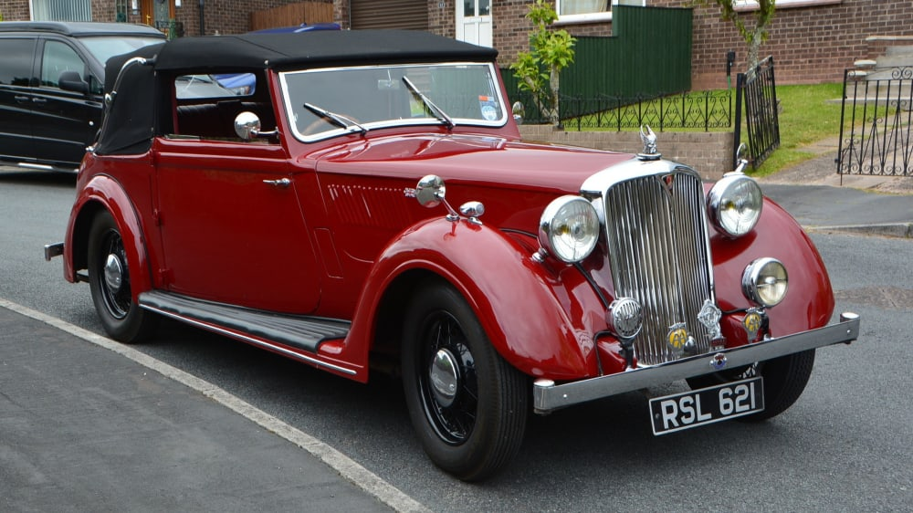 Rover 14 Tickford DHC
