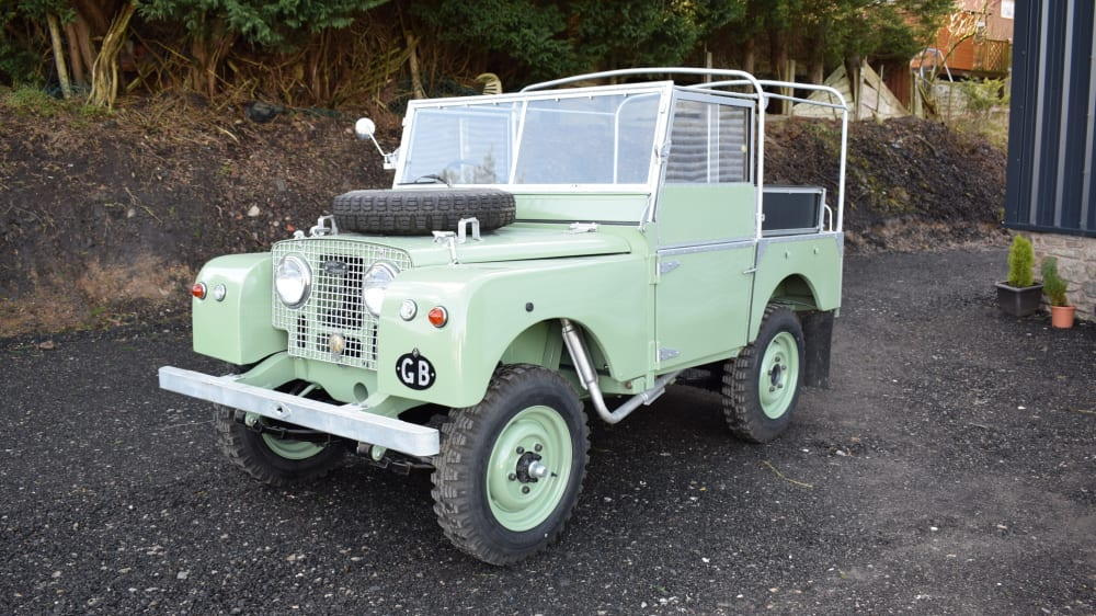 "Land Rover Series 1 80"" petrol"