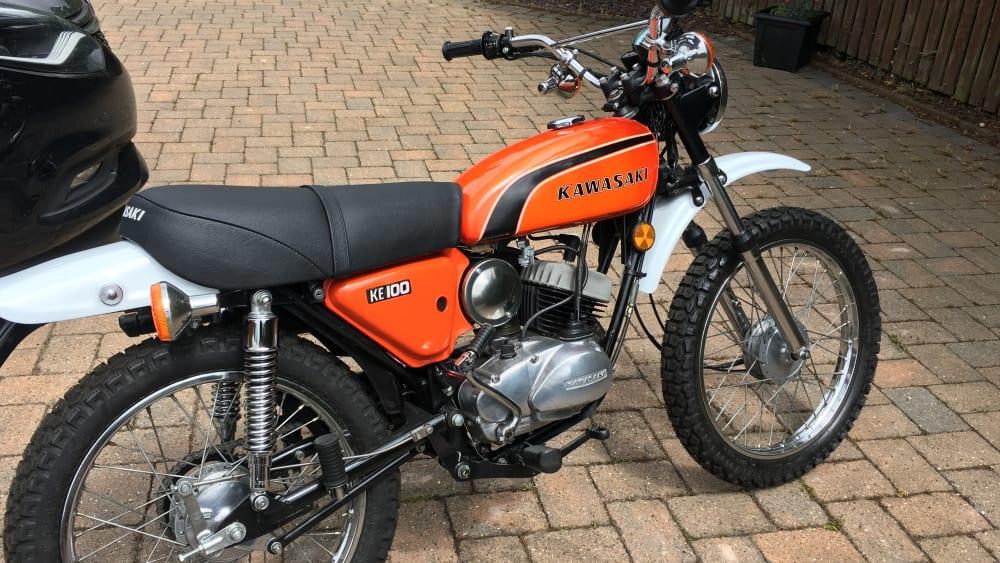 Kawasaki KE100 Motorcycle