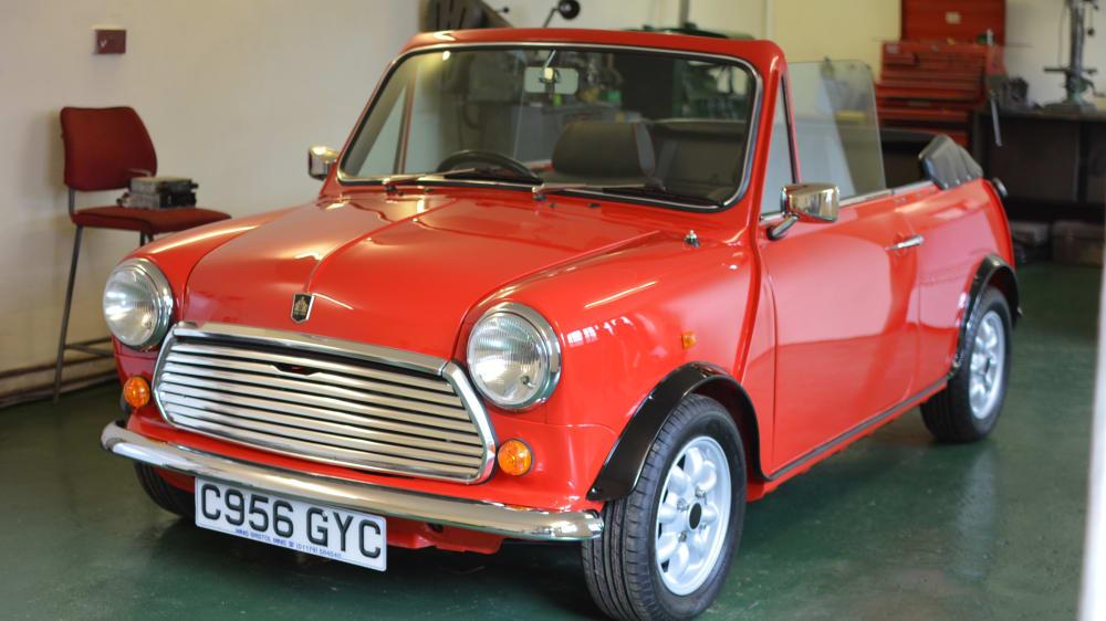 Mini (BMW) Cooper Convertible