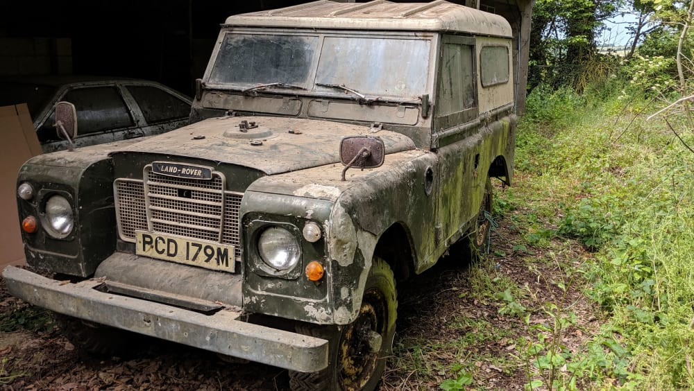 Land Rover Series III 88