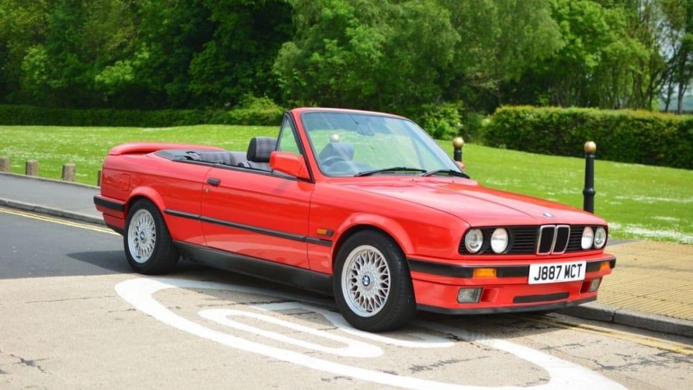 BMW 3 Series E30 Convertible