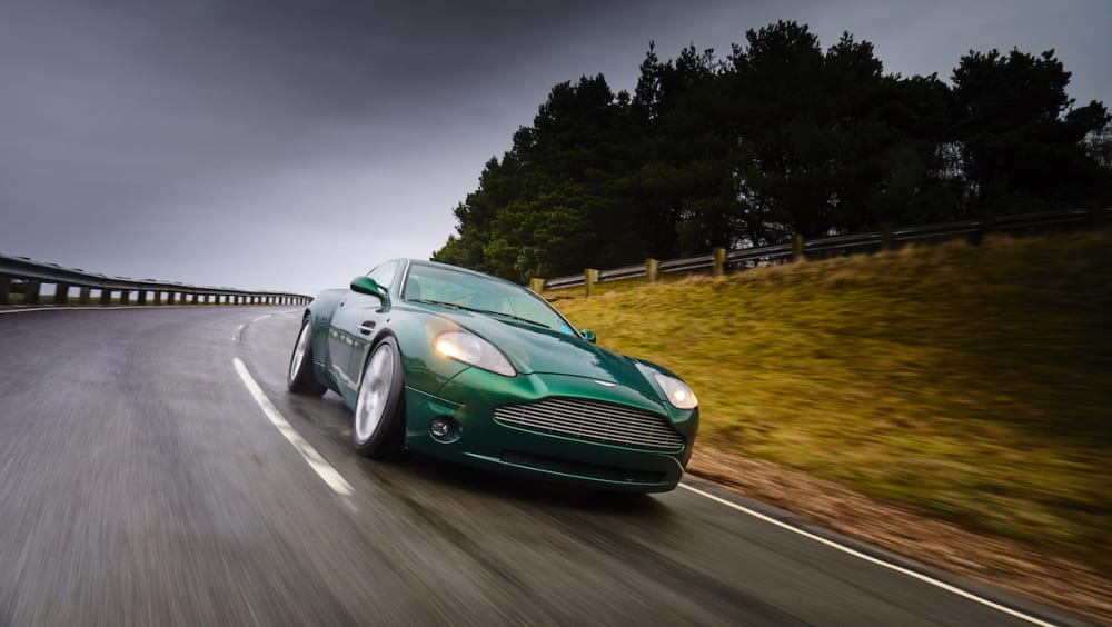 Aston Martin Project Vantage Prototype Concept