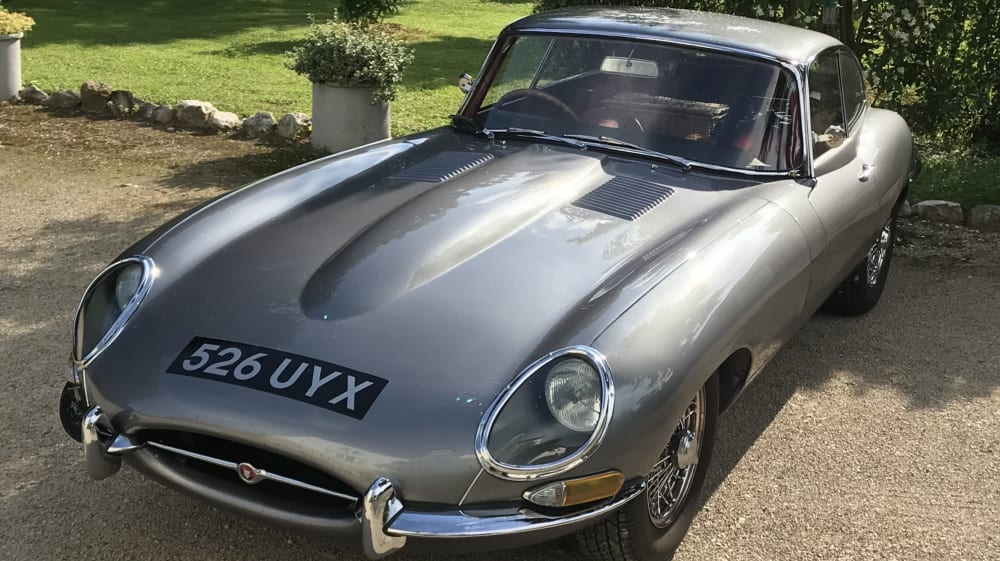 Jaguar E-Type (XK-E) S1 Coupe