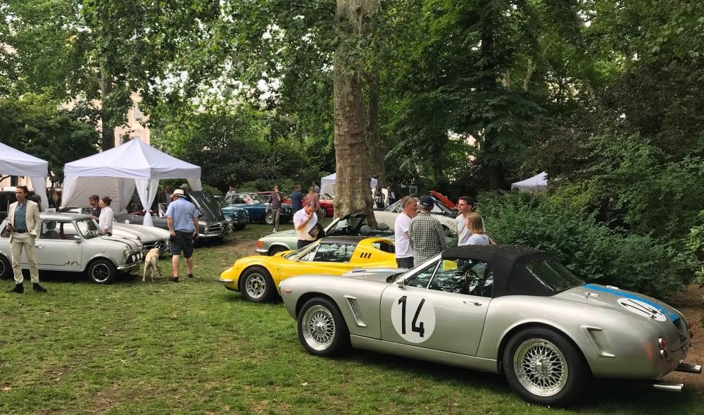 Timeline post: Belgravia Classic car show