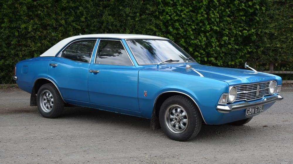 Ford Cortina Mk III Saloon