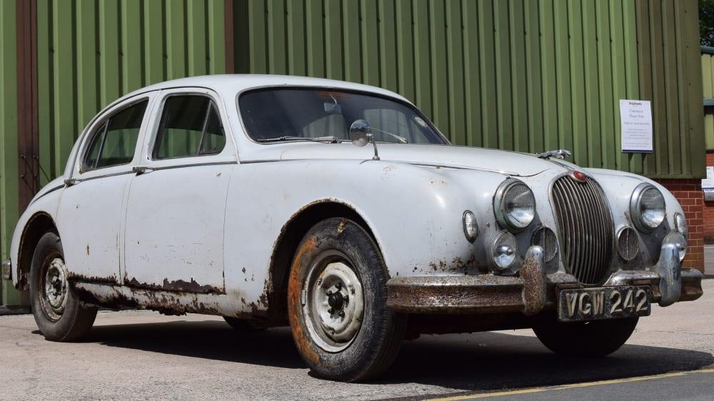 Jaguar Mk1 3.4 MoD