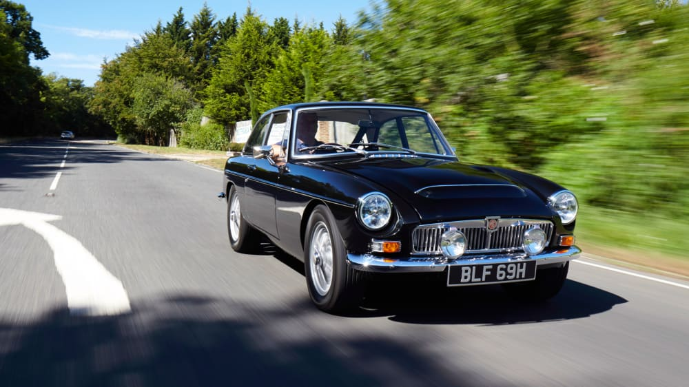 MG MGC GT Coupe
