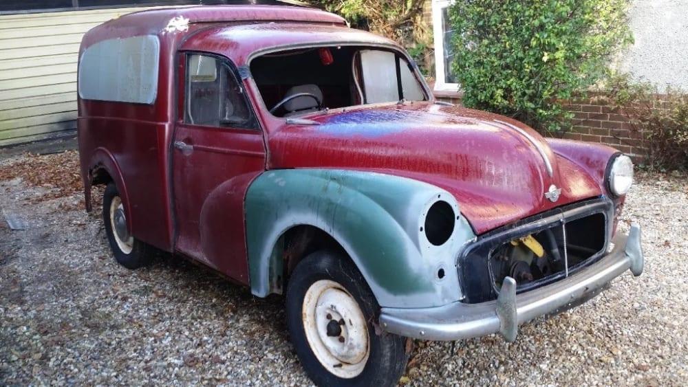 Morris Minor Van