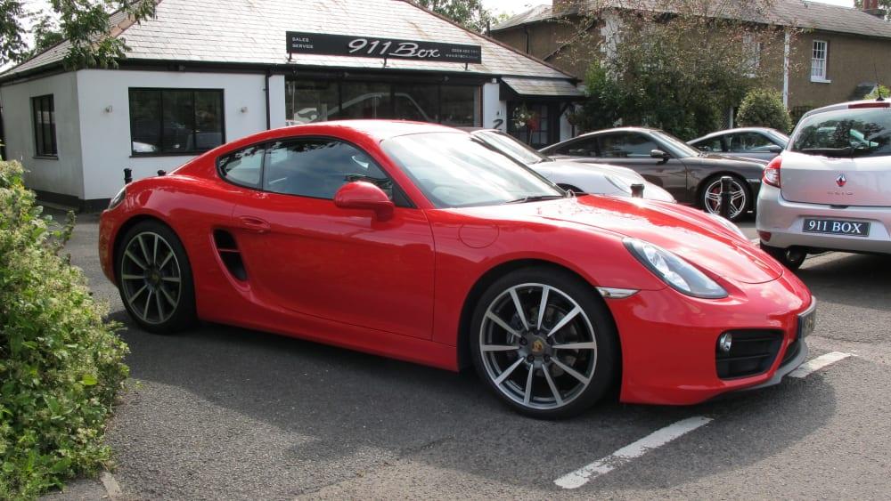 Porsche Cayman 981 2.7