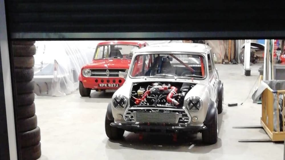 Austin Mini Turbo