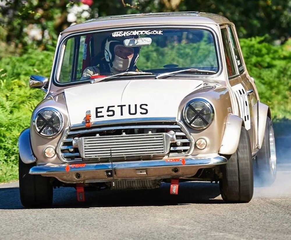 Timeline post: E5TUS - 1275cc Turbo Mini