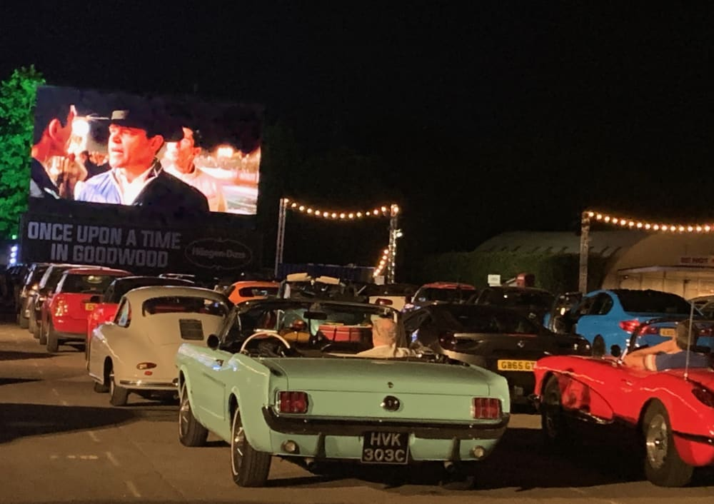 Timeline post: You can't beat a drive-in movie....
