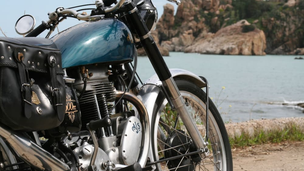 AJS 18S 500cc single