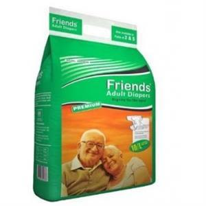 Friends Adult Diaper Large 2'S Pack