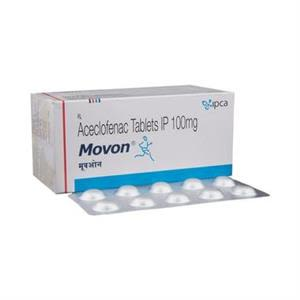 Movon 100 mg Tablet