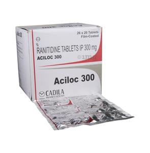 Aciloc 300 mg Tablet