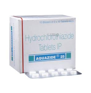 Aquazide 25 mg Tablet