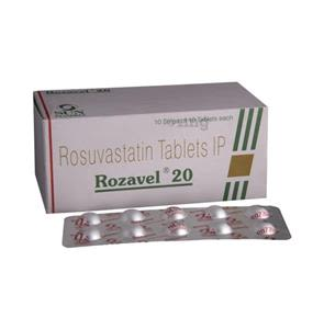 Rozavel 20 mg Tablet : Buy, Uses, Composition, Substitutes by Sun  Pharmaceutical Industries Ltd | Pasumai Pharmacy