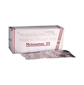Metosartan 25 mg Tablet