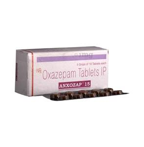 Anxozap 15 mg Tablet