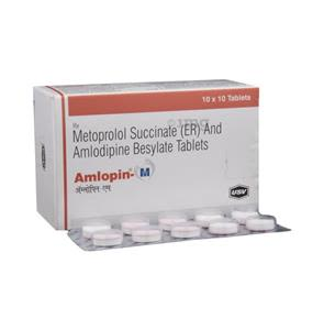 Amlopin M 25 mg Tablet