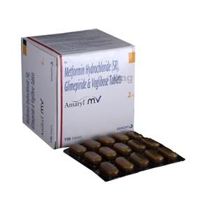 Amaryl MV 2 mg Tablet