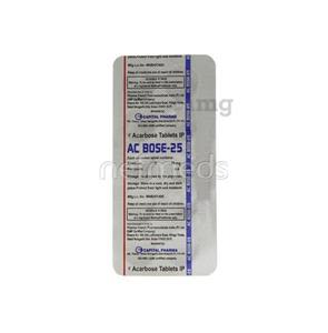 AC Bose 25 mg Tablet