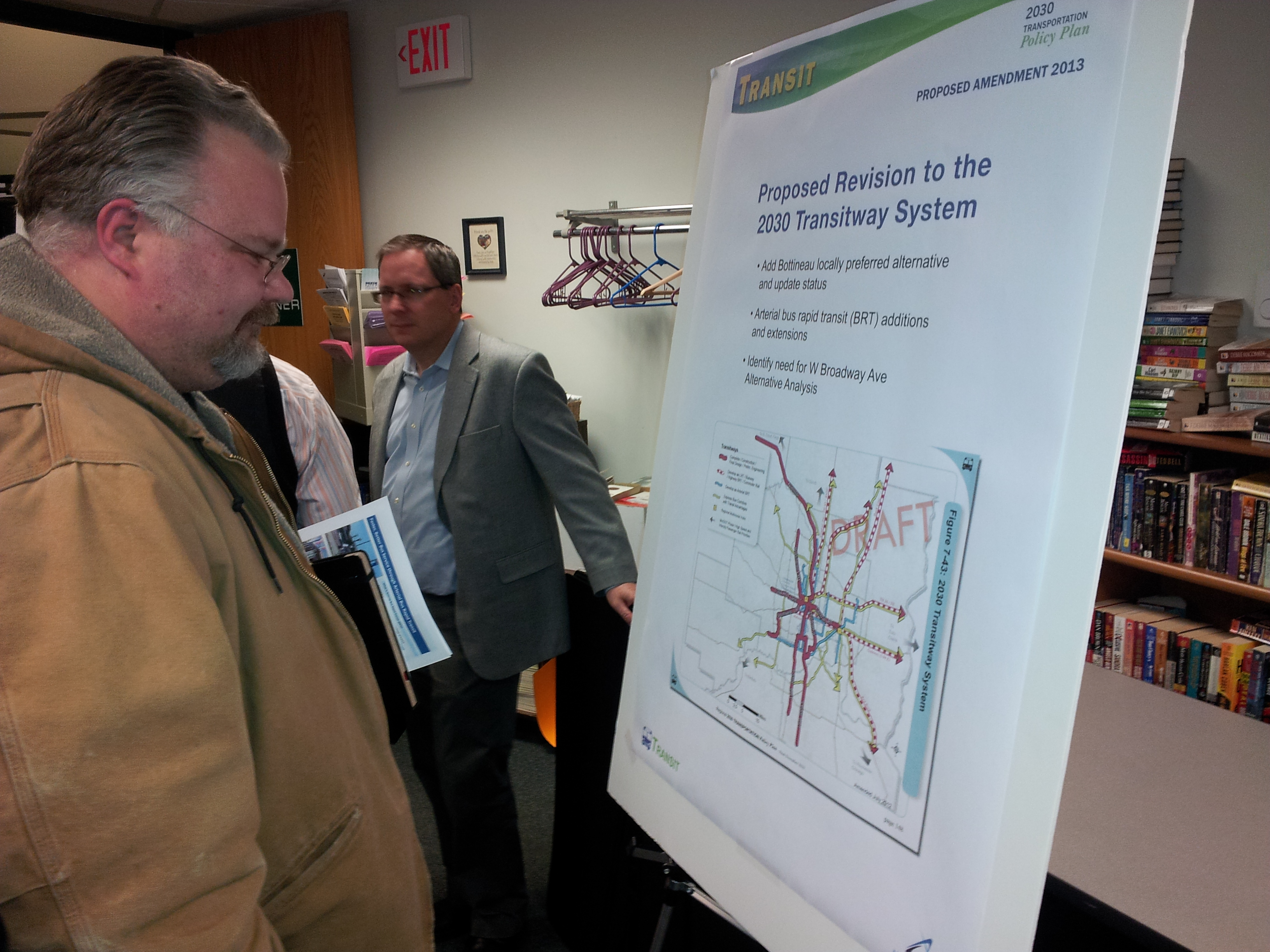 Met Council Transit Plan Open House