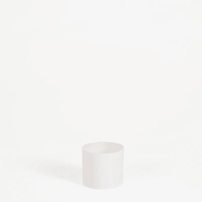 7cm wide straight-edged pot