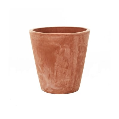 Long Tom terracotta pot