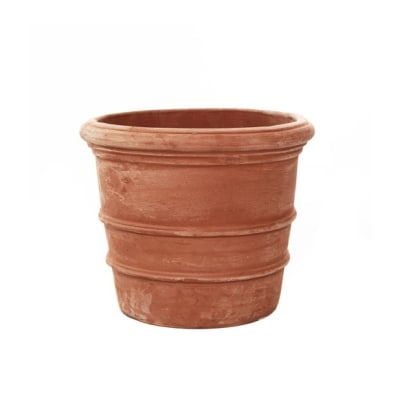 Florentine terracotta pot