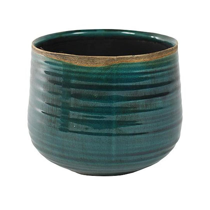 Crackle Glaze Ceramic Turquoise