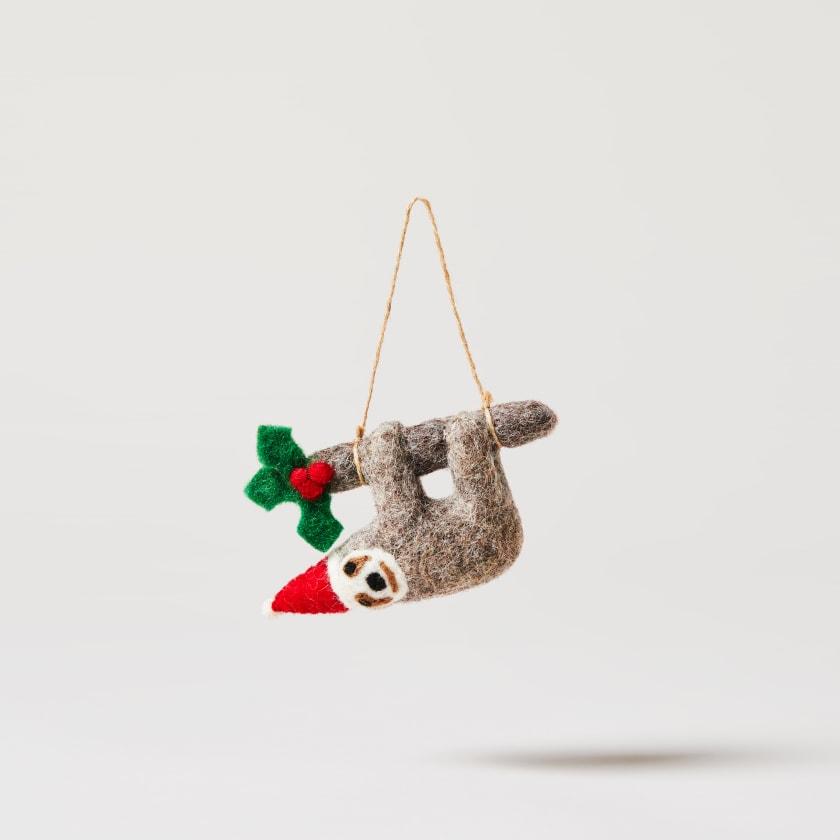 Felt Hanging Sloth