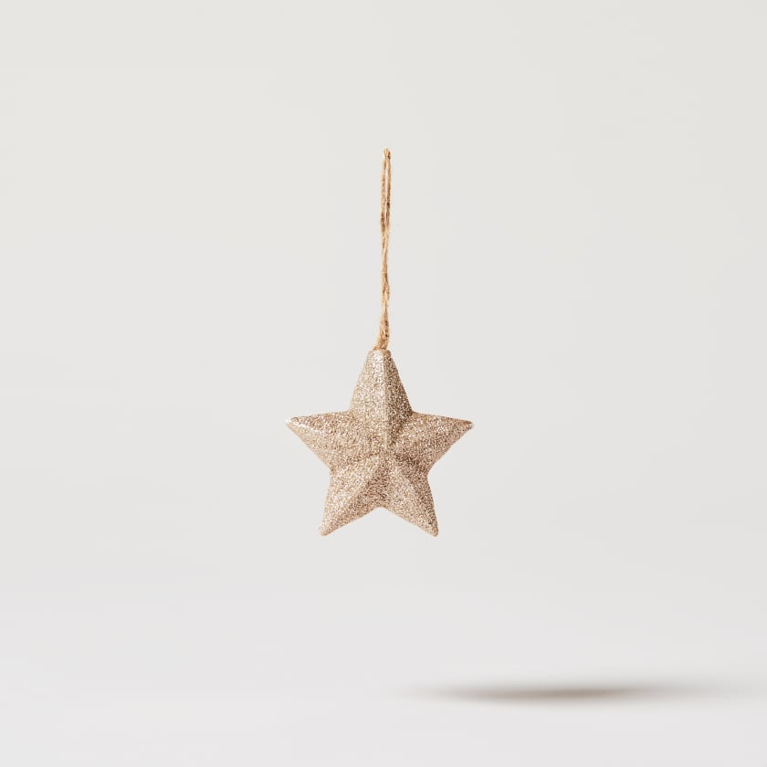 gold resin star