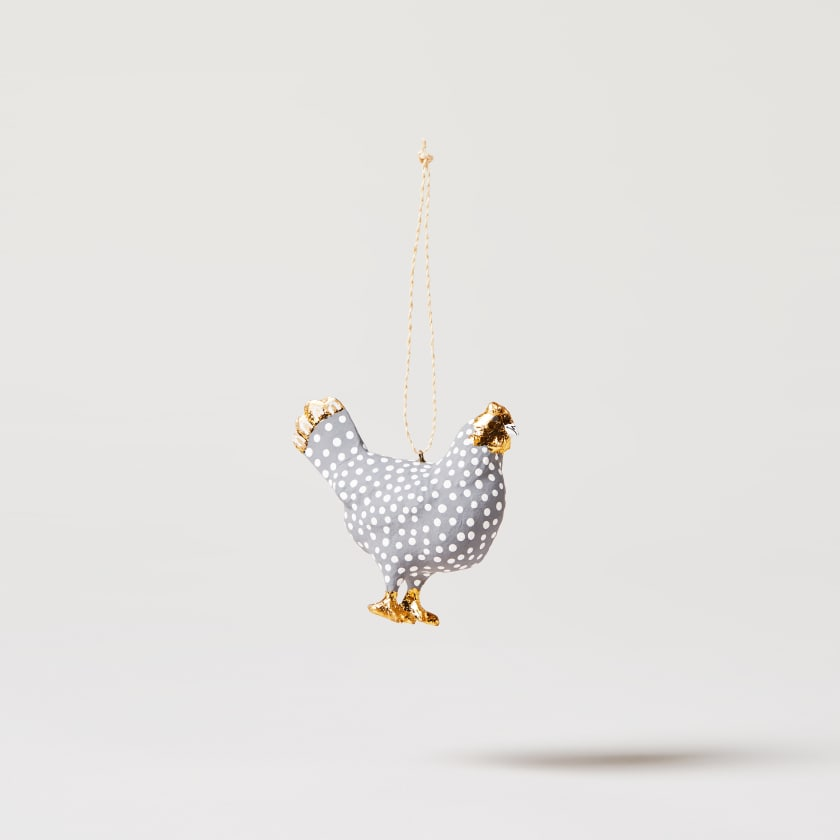silver hen
