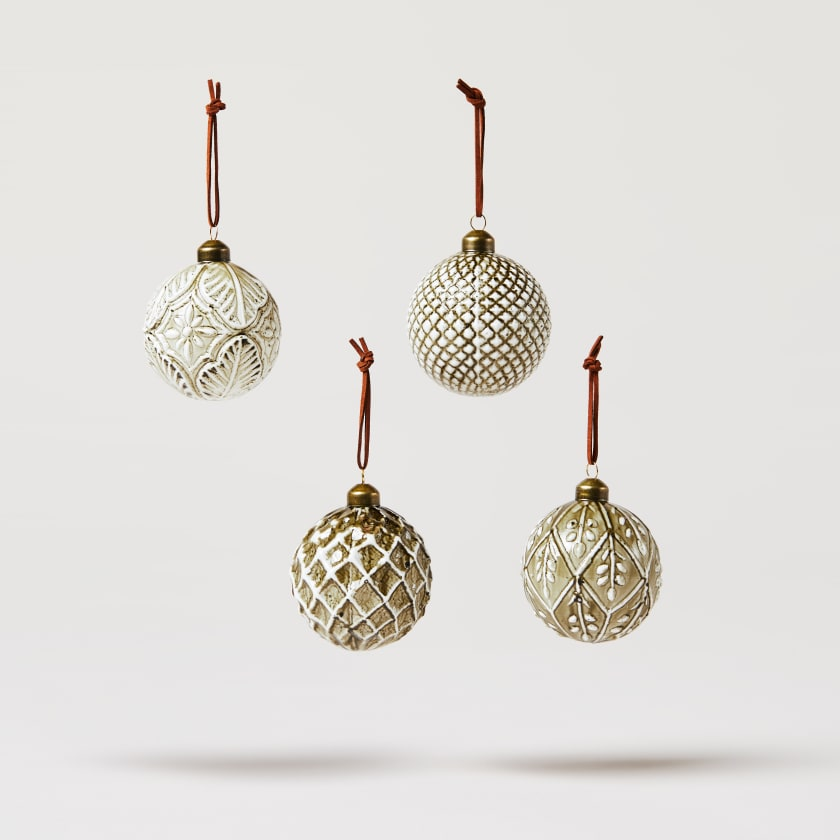 lacquered baubles